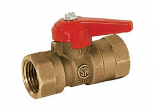 USD Products Brass Gas Valve Manual Gas Valve